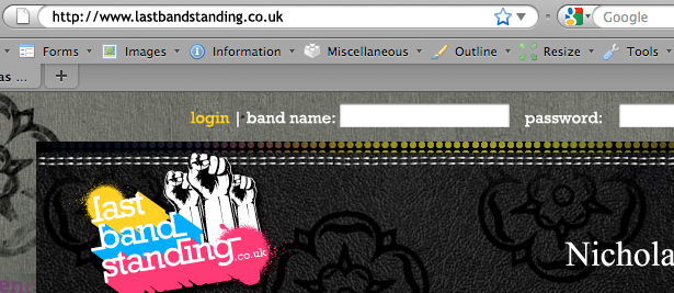 BlueInkAgency.com | kidd81.com | lastbandstanding.co.uk